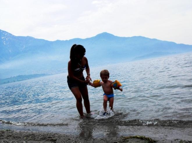 life in italy lake como