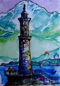 Gera Lario painted by Nyx Martinez