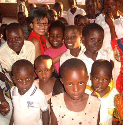 with orphans