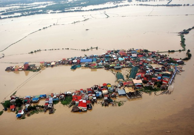 Philippine flood Maring