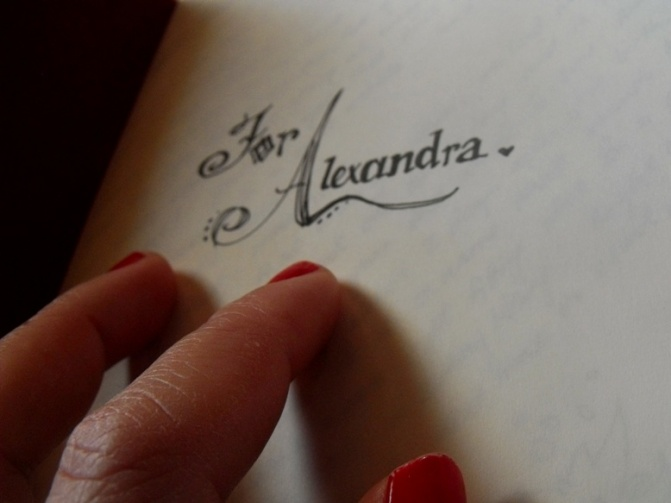 journal alexandra