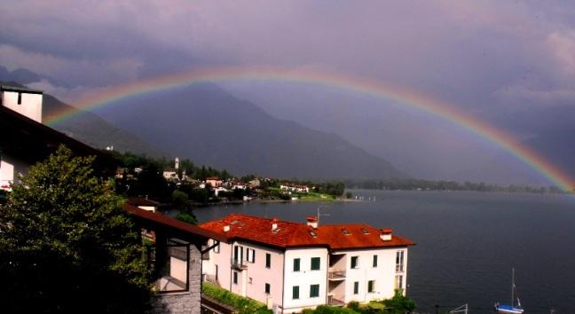 rainbow in july