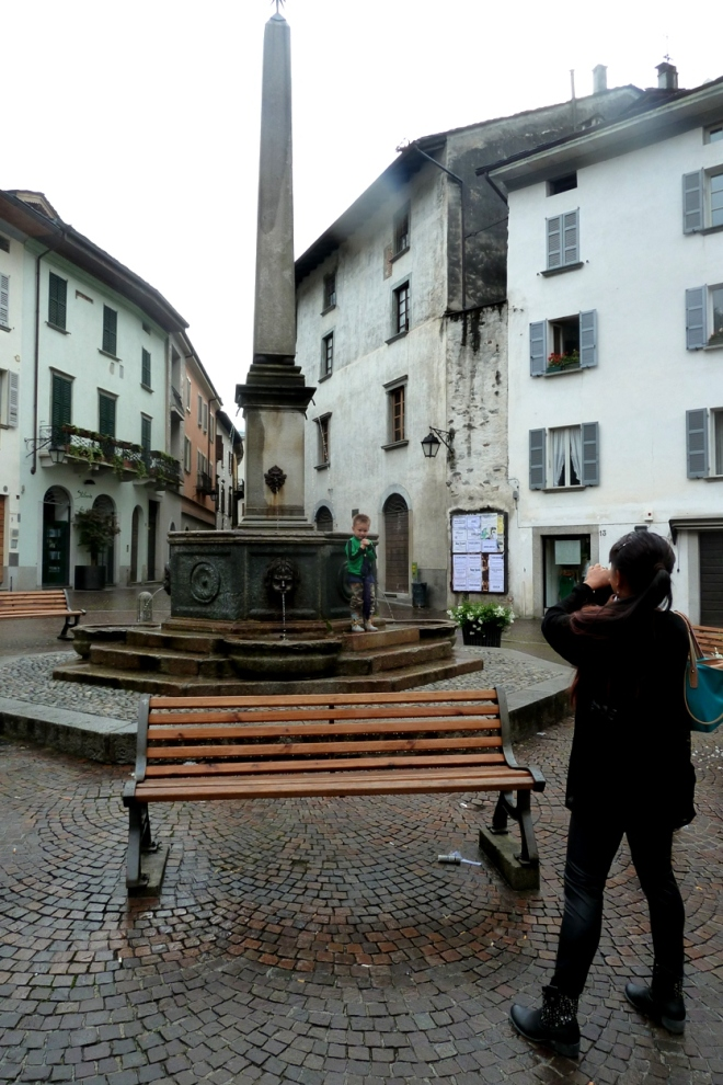 Chiavenna fountain
